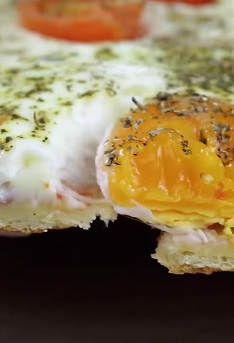 Турецкий открытый пирог