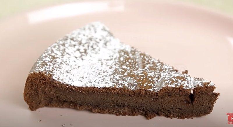 Абсолютно шоколадный пирог