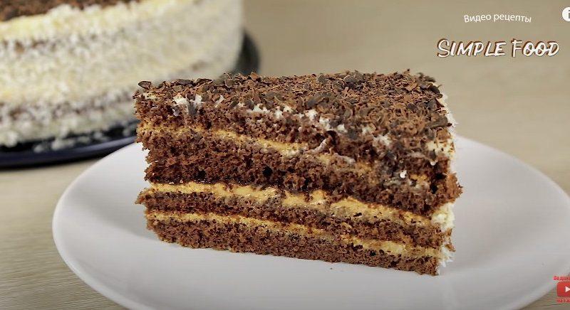 Шоколадный торт за 30 минут