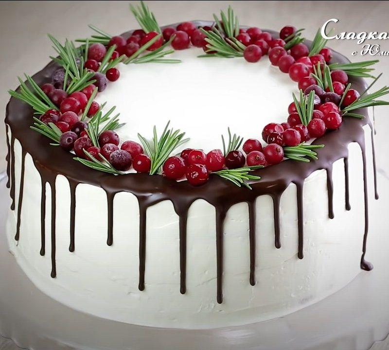 Лучшие праздничные торты
