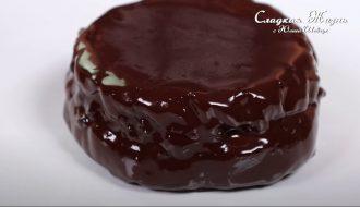Шоколадный кекс без муки и сахара