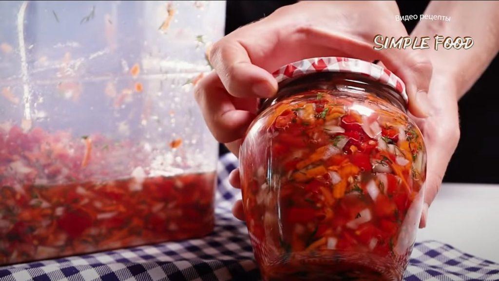 Заготовка для супа на зиму