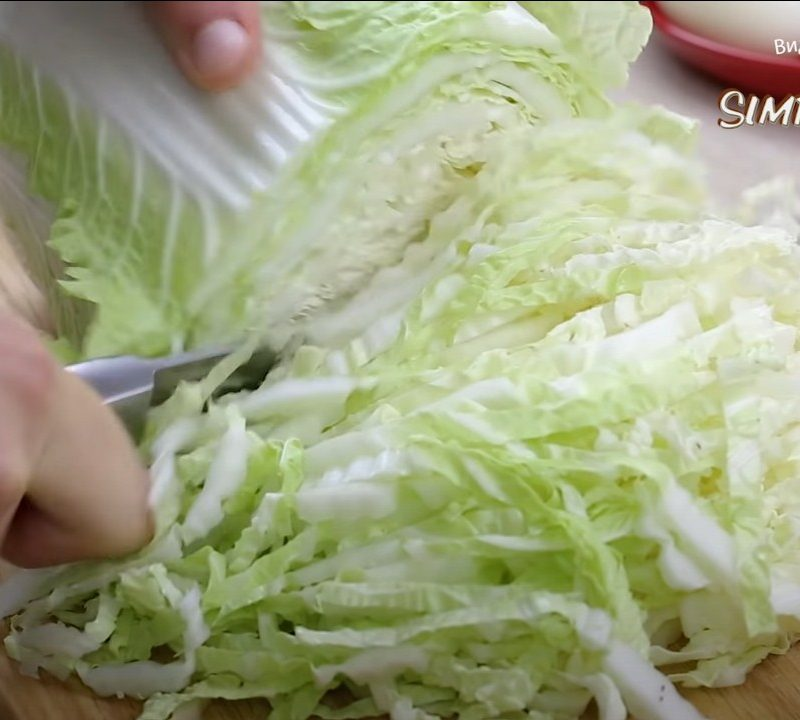 Лучшие салаты с пекинской капустой
