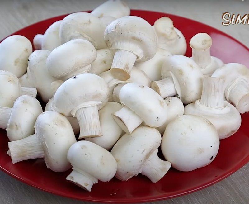 Запечённые грибочки