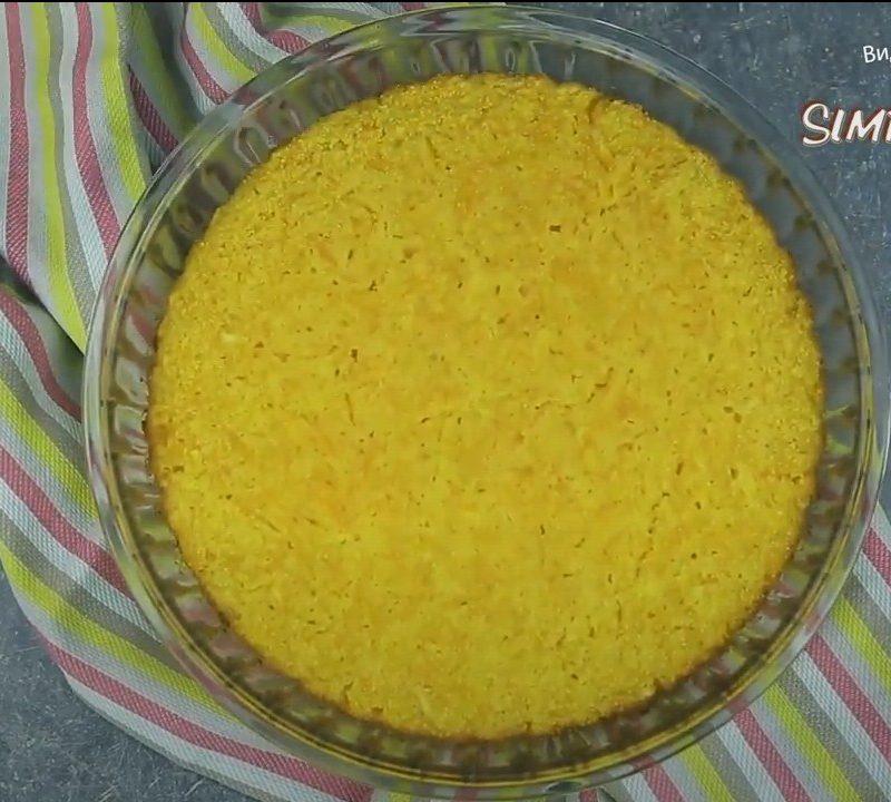 Пирог с тыквой без масла муки и яиц