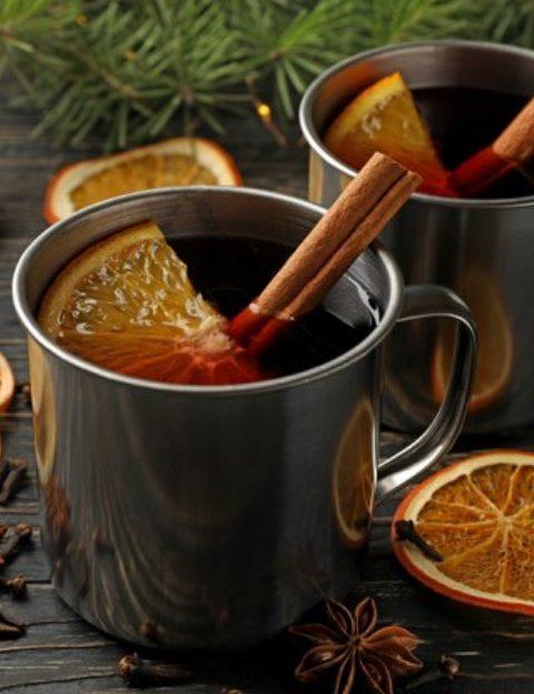«Зимние» напитки