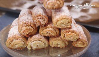 Печенье из творога с кокосом