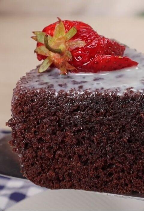 Мягкий шоколадный торт